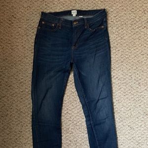 J. Crew High Rise Skinny Denim
